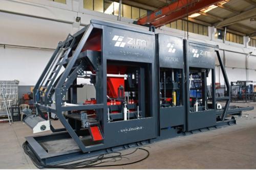 ZIM 1230 - Concrete Pavers and Block Machine