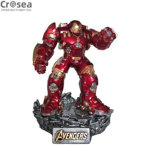 Iron Man anti-Hulk armor animation model resin GK statue