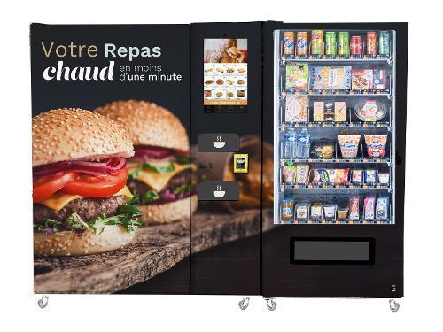 Restaurant automatique FOOD24MAX CB NAYAX