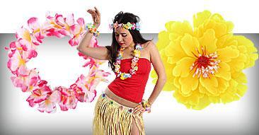 Hawaiiketten Blumenketten