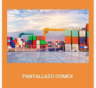 PANTALLAZO COMEX