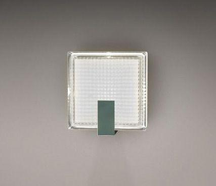 Outdoor square sconce