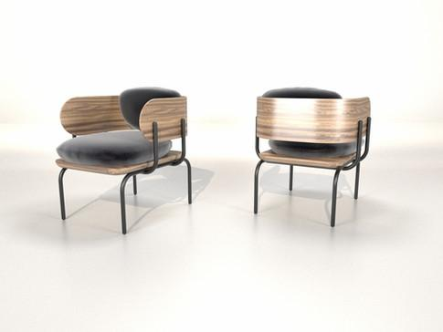 Armchair Line1 Collection Graphica