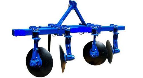 ridge plough in agriculture machine