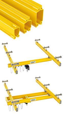 Système de manutention aérienne pour charge de 60 à 2 000 kg