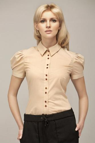 Koszula al11 - beż - AL11