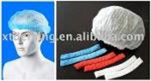 Gorra desechable para mobs no tejida con banda elástica
