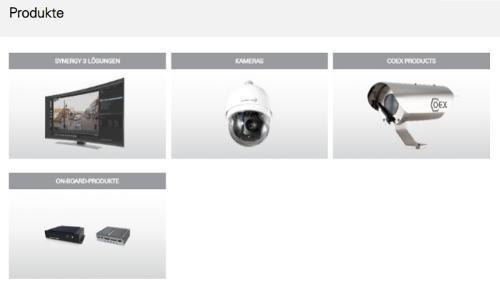 Synergy 3, Kameras, COEX, On-Board-Produkte