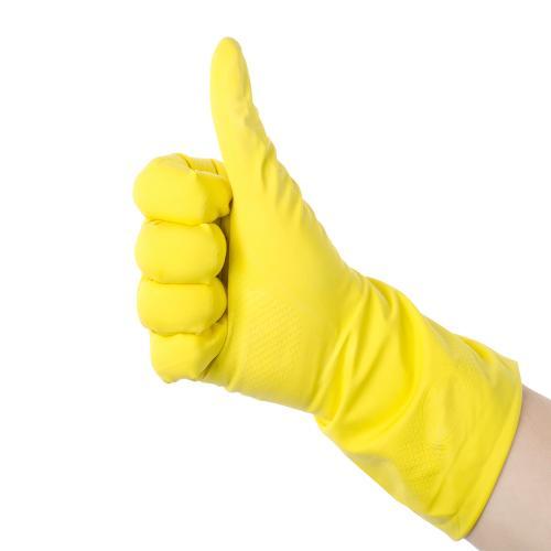 Latex Gloves -Rubber gloves -Household gloves -Flock Lined
