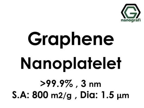Graphene Nanoplatelet, Purity: 99.9%, Size: 3 nm, S.A: 800 m
