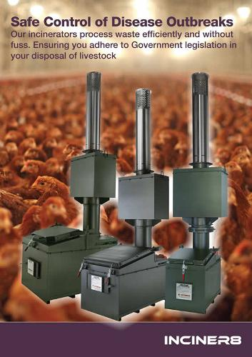 Animal waste Incinerators