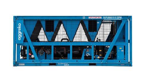 700 Kw Koelmachine Met Schroefcompressoren