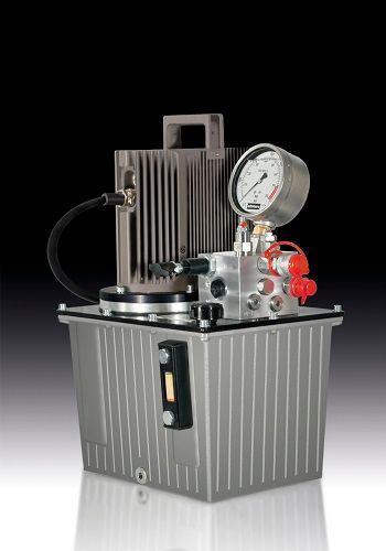 alkitronic® EHPC: Hydraulikaggregat mit Elektromotor