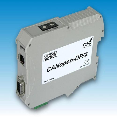 Gateway CANopen® to PROFIBUS-DP® Slave