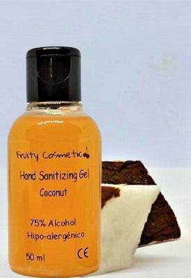 Gel Desinfectante Hidroalcoholico De Coco