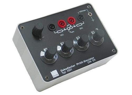 Pt100用于校准模拟器 - 4501