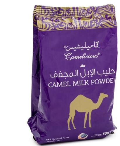 Camel powdered milk