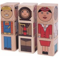 """Professions"" Cubes"