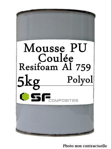 MOUSSE PU COULEE AL759 EN 5KG