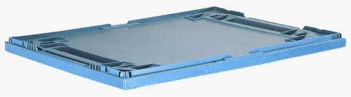 Lid for folding box
