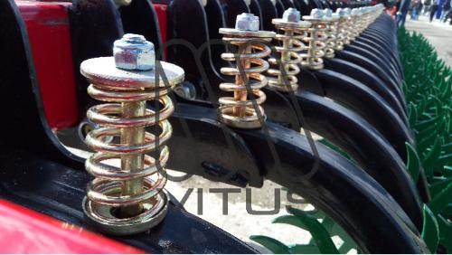 Springs for agricultural machinery.