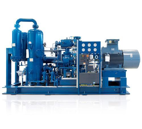 AERZEN Biogas Aggregat VMY mit Öleinspritzung
