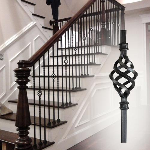 Adjustable Wrought Iron Stair Balusters