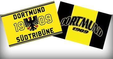 Thema: DORTMUND und schwarz/gelb Fahnen & Flaggen