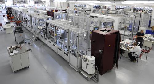 Lösungsanbieter für Produktionsautomation