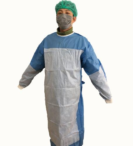 Disposable Reinforced Sterile nonwovent Surgical Gown