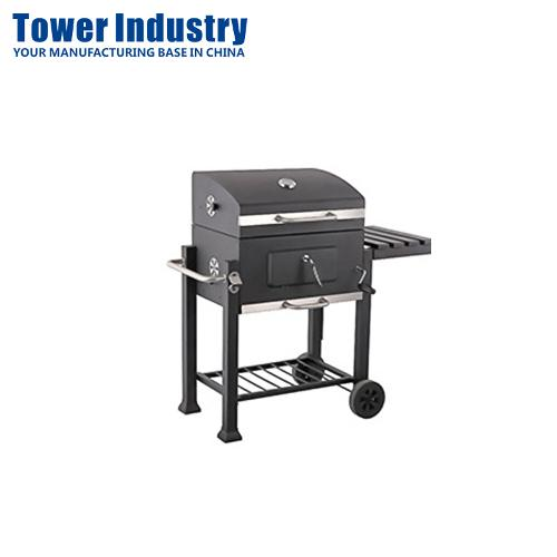Barbecue Charcoal Bbq Grill Smoker Assembly
