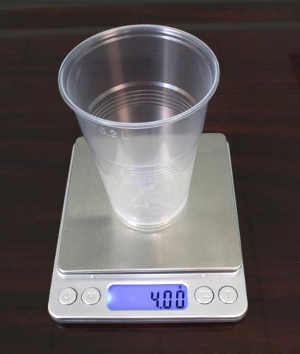 Премиальный пластиковый стакан 4 грамма 200 мл