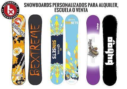 Snowboards personalizados