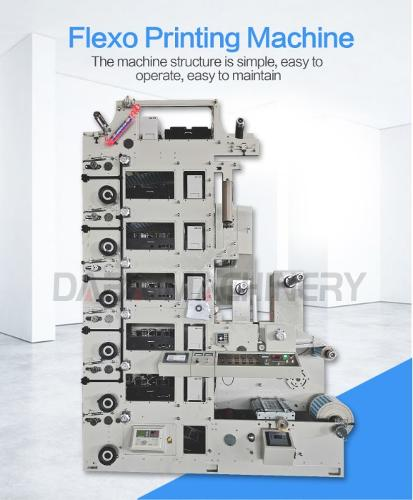 Good quality Flexo printing machine 1-10 colors