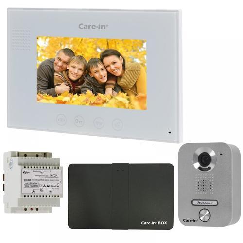 Pack interphone vidéo Sewosy Care In - En applique -...