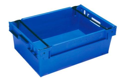 Cajas de plástico apilables y encajables