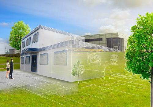 Construction modulaire pour bureaux