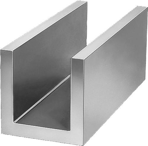 Profil en U Fonte grise et aluminium