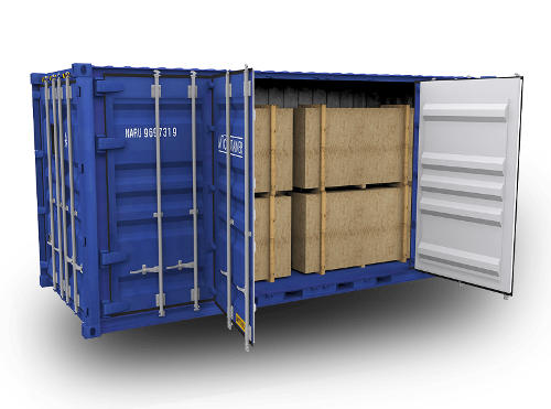 Open Side Door Containers