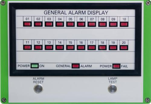 General Alarm Indiactor Panel