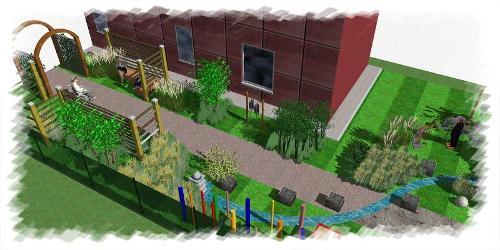 Jardin pour jeunes adultes autistes en Lorraine