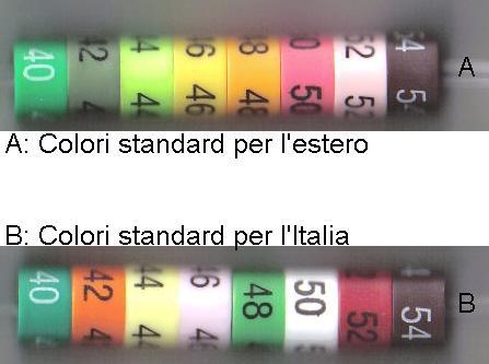 SEGNATAGLIE DI PLASTICA ART. STANDARD