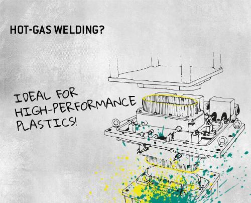 Hot-gas welding