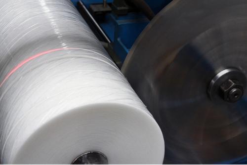 Šikmý proužek z PP textilie Spunbond