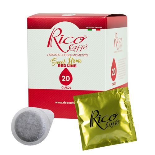 Cialde Rico Caffè Red Line