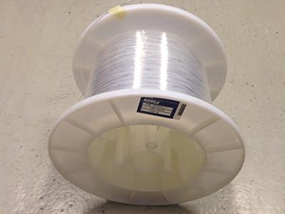 Fibres optiques plastiques nues