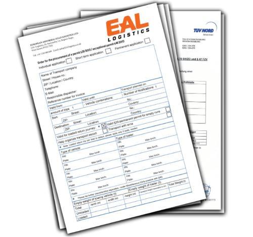 Convoi Exceptionnel / Abnormal Load Permits