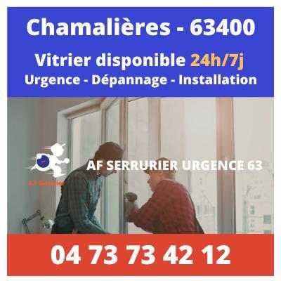 Vitrier sur Chamalières – 24h/24 et 7j/7