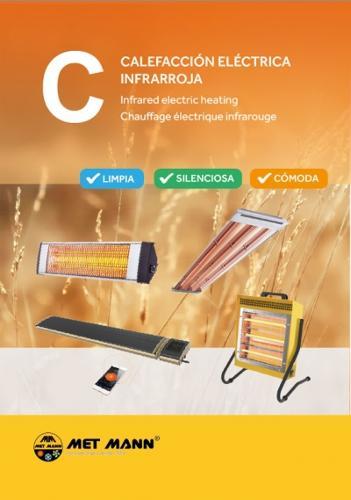 Calefacción infrarroja eléctrica