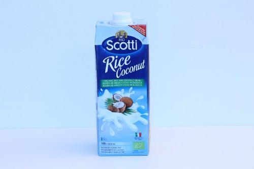 Scotti Organic Rice and Coconut Drink 1l